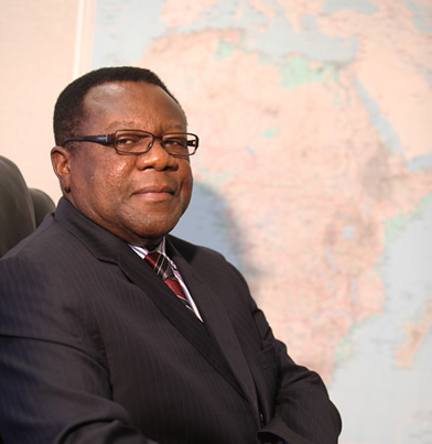 Prof. Emmanuel Nnadozie, ACBF Executive Secretary